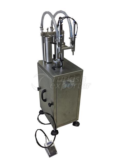 Máquina de llenado manual (vertical)