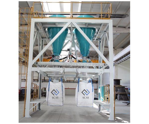 Máquina de enchimento de saco grande