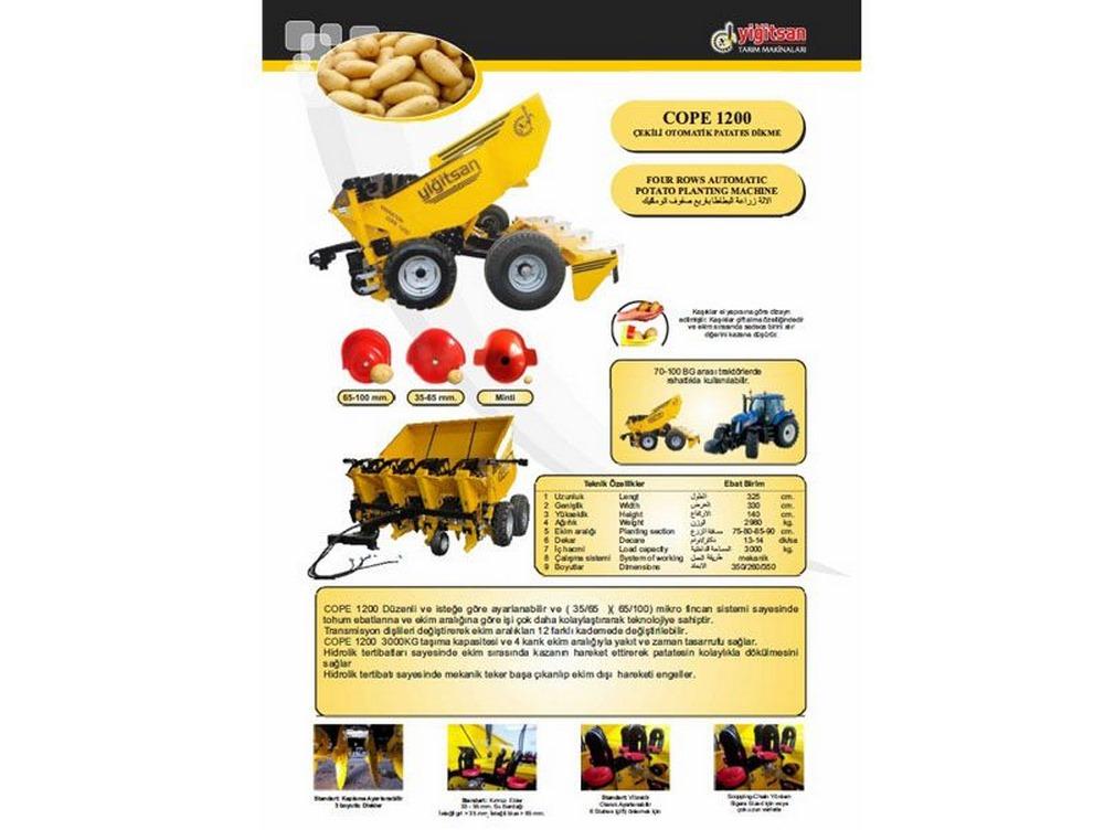 Potato Planting Machine