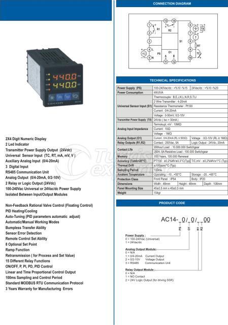 AC14 48x48 Advanced Process Controller