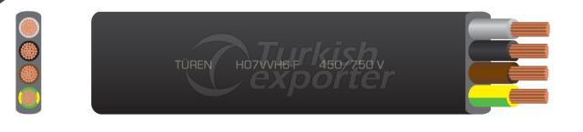 H07VVH6-F , 60227-6 IEC 71-f
