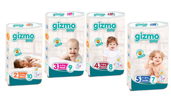 Gizmo Baby Diapers
