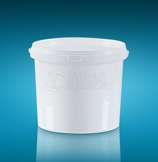 Round Packages Bucket 3LT