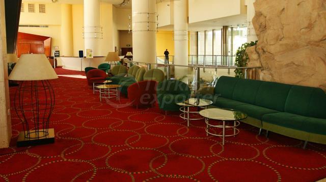 tapis d'hôtel saxony tissés