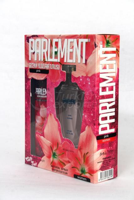 DEODORANT&PERFUME FOR WOMEN- PINK