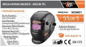 Máscara de solda Wega