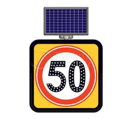 Solar Road Maintenance Led Signs  11845 FL