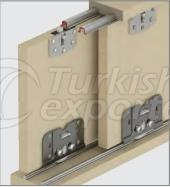 Adjustable Sliding Door System M03 7060