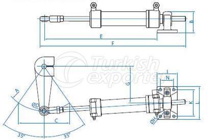 Hydraulic Cylinder DS50