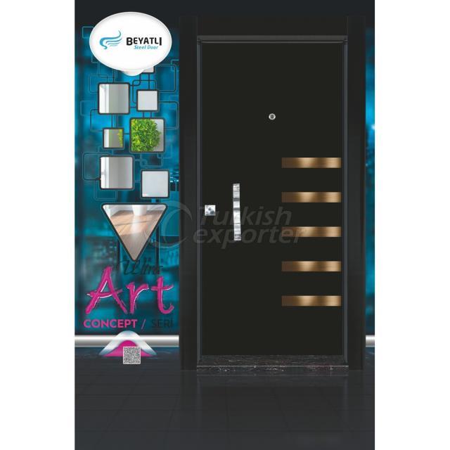 Steel Door - UA 701