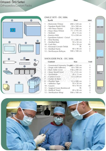 Orthopedics Custom Packs