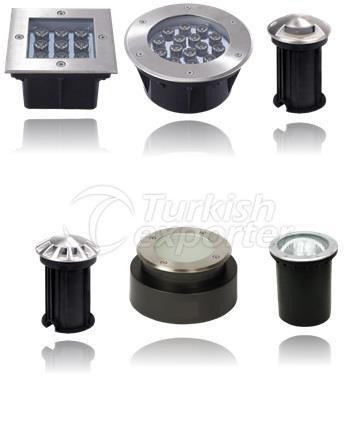 Recessed Floor Luminaires
