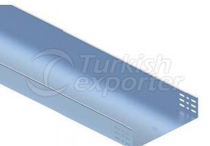 Bandejas de cable para servicio mediano inferiores e inferiores sólidas EUH100