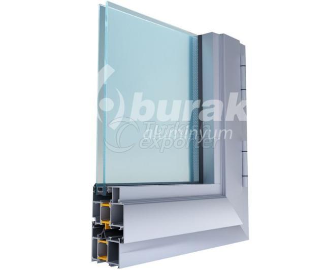 أنظمة الأبواب والنوافذ Y-65