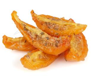 Oven Roasted (Semi Dried) IQF Frozen Marinated Yellow Tomatoes