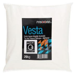 Pandora Vesta - Detergente de Lavagem Principal com Baixa Espuma e Sem Lixívia