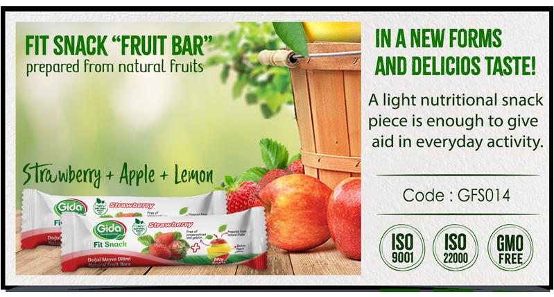 Straberry Fruit Bar