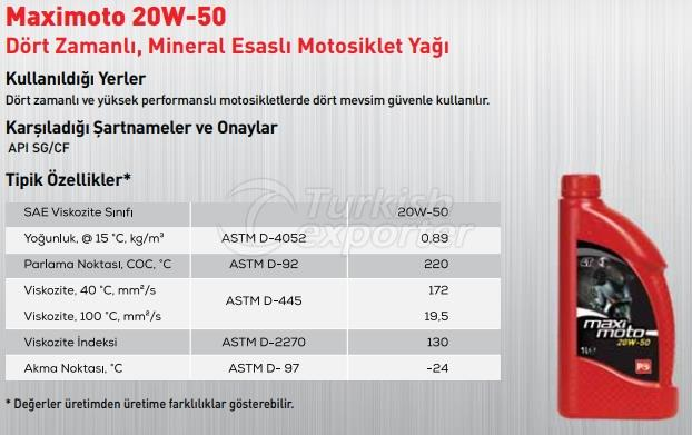 Maximoto 20W-50