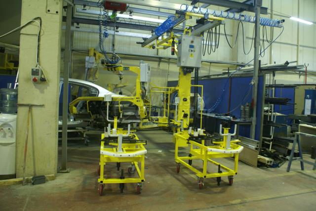 Renault Moscow Assembly Line Equipment