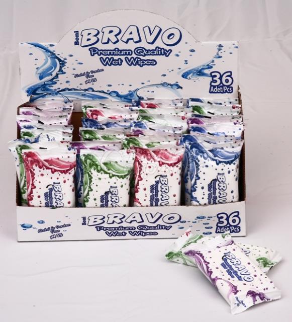Bravo Pocket Wipes