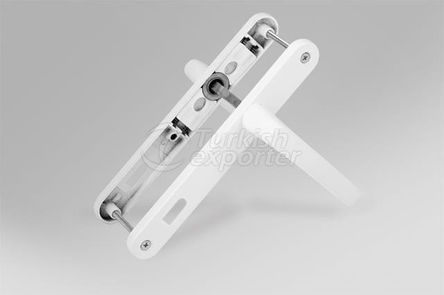 AK057 Aluminum Mesut Room-Narrow (25MM) Spread Door Handle