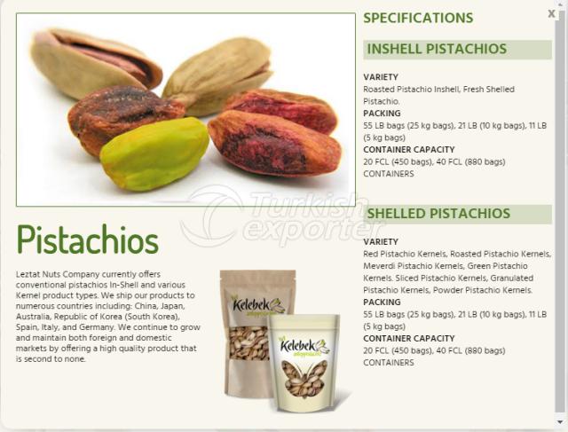 Pistachios-Information