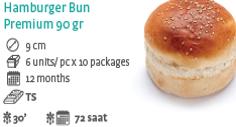 Hamburger Bun Premium