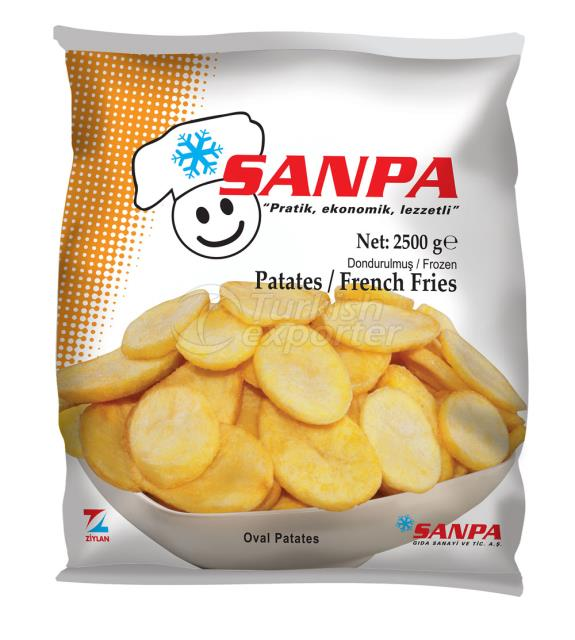 Patates Oval 2500 G
