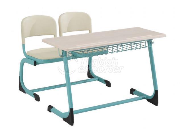 Desks OK-104 TEL SEPETLI