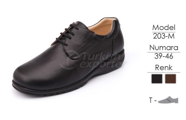 Diabetic-Orthopedic Man Shoes 203M