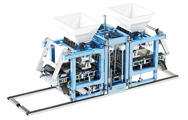Tam Otomatik Beton Blok Makinesi