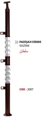 Balaustrada Plexi / SNK-2007 / Sultão