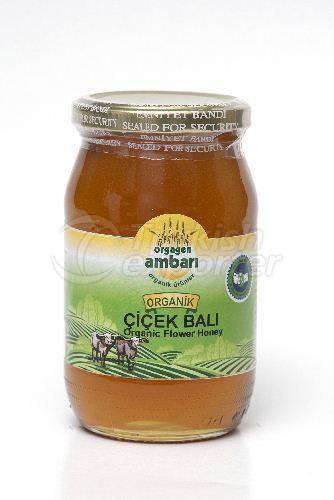 Organic Flower Honey 460gr