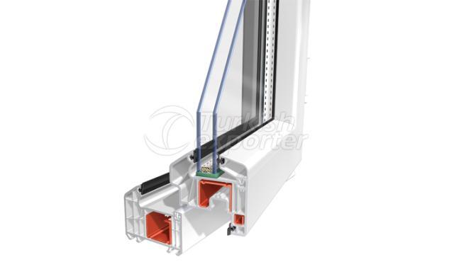 PVC Pencere Kapı S75