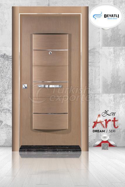 Steel Door - ZA 102