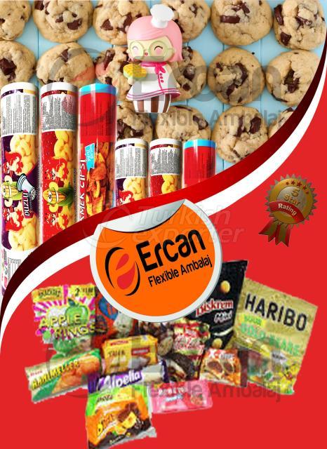 Emballage de produits en biscuit