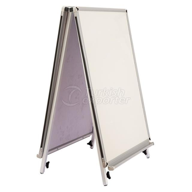 Triangle Enamelled Whiteboard