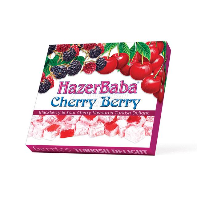 Cherry  Turkish Delight
