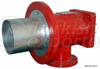 Queimadores de processo de gás natural 100