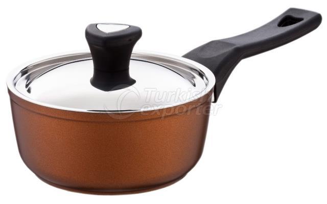 Sartén de salsa de cobre