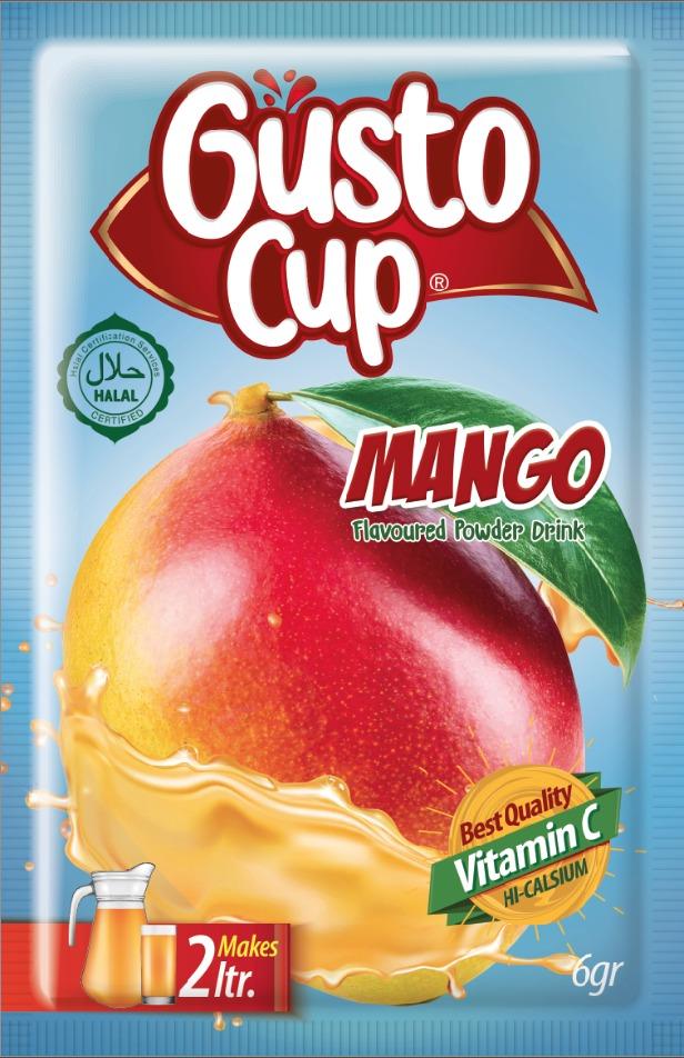 gusto cup mango