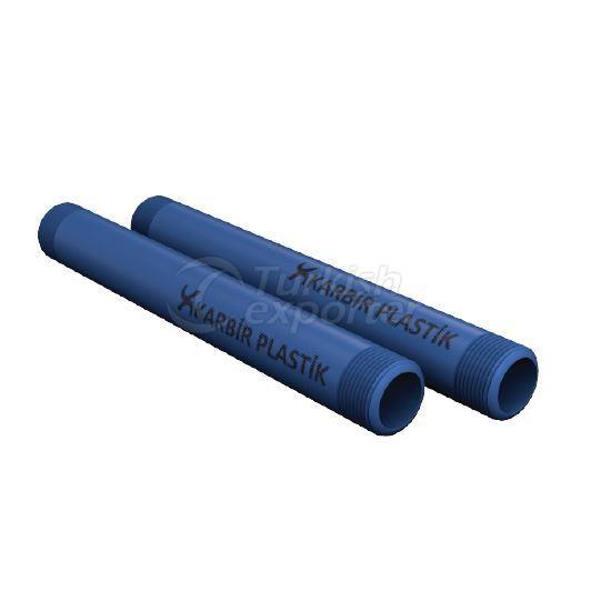 Tuyau d'extension bleu