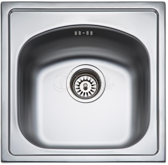 44x44 Inset Sink