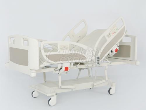 Lit d'hôpital 4 moteurs avec des ciseaux