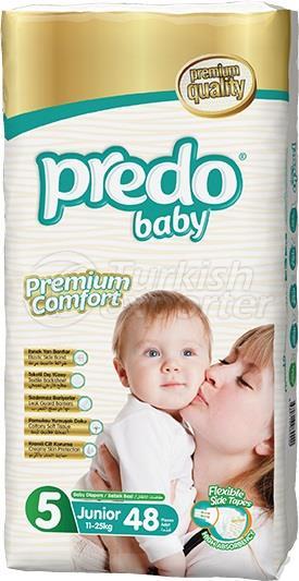 Fraldas para Bebês Predo Jumbo Midi