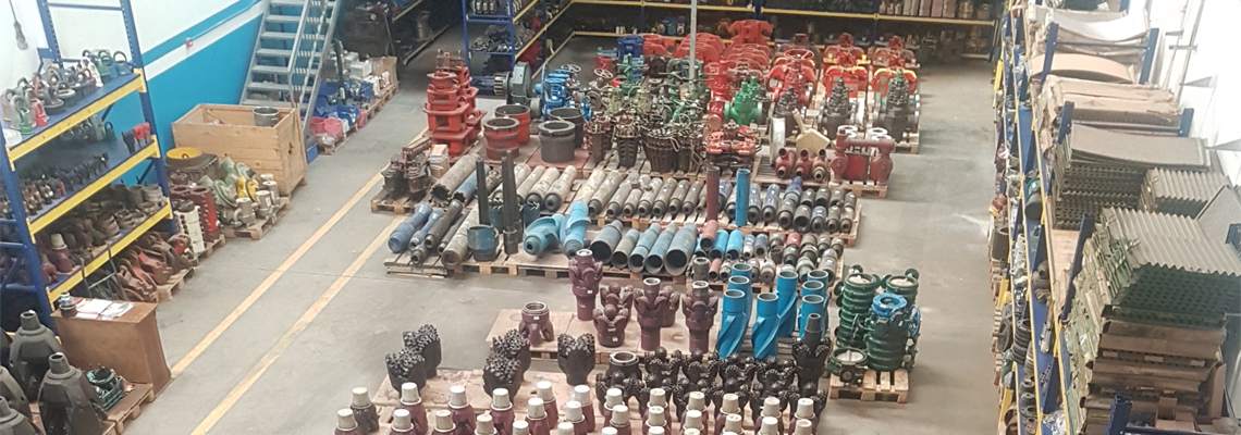 Drilling Equipment Database Of Warehouse