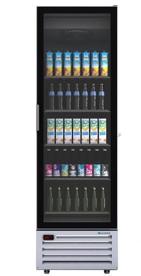 upright cooler for bottle drinks