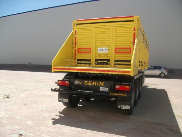 Grain Type Tipper With Side Wall