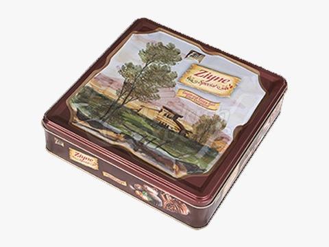 Elif Ziyne Square Tin Box