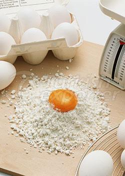 مسحوق البيض